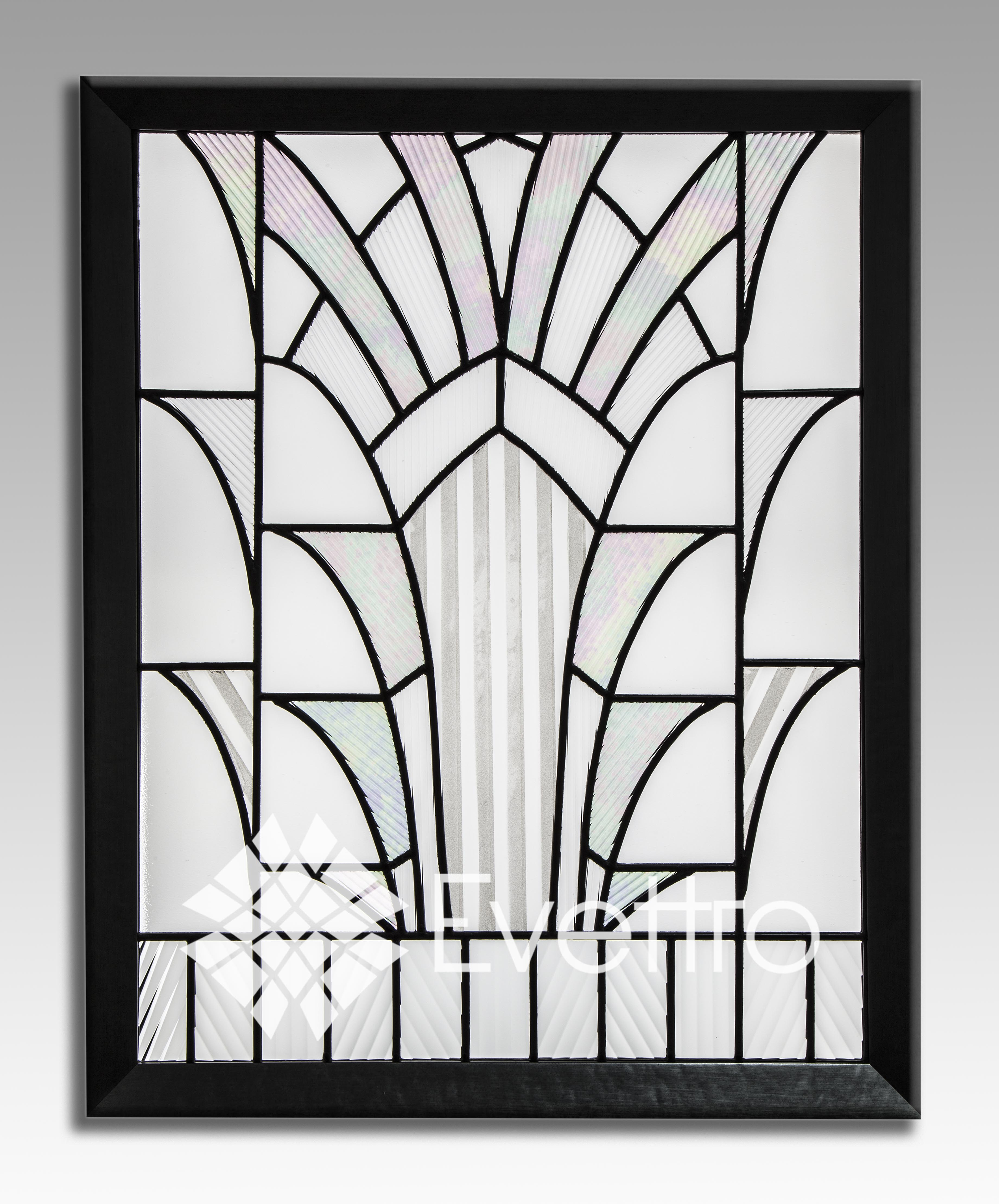 evettro art in glass art deco stained glass evettro art in glass. Black Bedroom Furniture Sets. Home Design Ideas