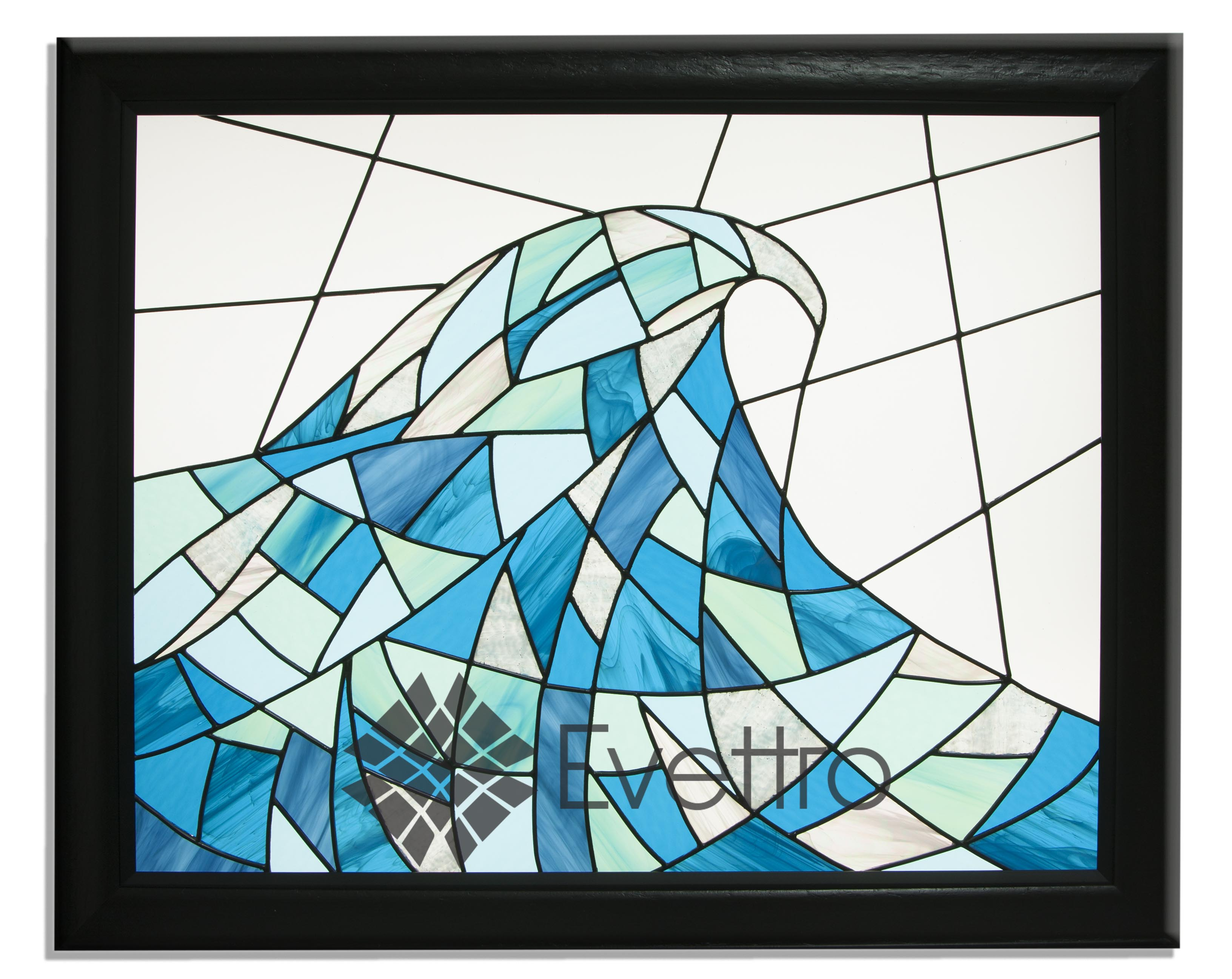 Nautical Stained Glass Window Panel